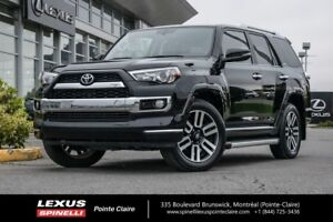 2017 Toyota 4Runner LIMITED, NAVI, CUIR, TOIT OUVRANT LIMITED, F