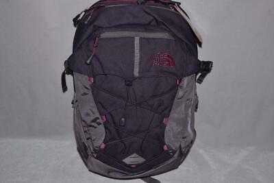 AUTHENTIC THE NORTH FACE W BOREALIS EGGPLANT PURPLE BACKPACK BOOKBAG DAYPACK NEW
