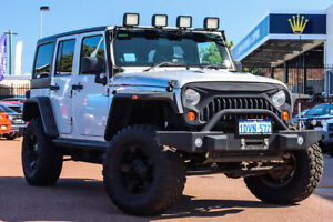 2011 Jeep Wrangler JK MY2010 Unlimited Sport Silver & Chrome 6 Speed Manual Softtop