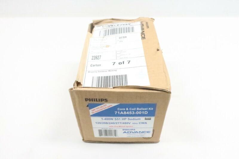 Philips 71A8453-001D Advance Ballast 400w Hps 120/208/240/277/480v-ac
