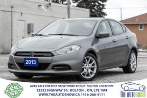 2013 Dodge Dart SXT ALLOYS AUTOMATIC CERTIFIED NEW TIRES & BRAKE