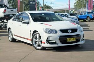 2016 Holden Commodore VF II MY16 SV6 White 6 Speed Sports Automatic Sedan McGraths Hill Hawkesbury Area Preview