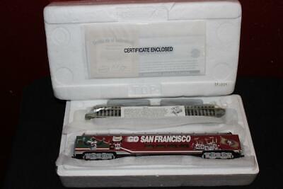 San Francisco 49ers Fan Dome Car Hawthorne Village HO Scale Bachmann - $20.00