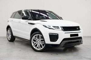 2017 Land Rover Range Rover Evoque L538 MY17 HSE Dynamic White 9 Speed Sports Automatic Wagon