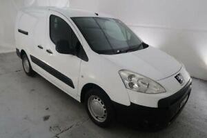 2010 Peugeot Partner B9P L2 Low Roof MWB White 5 Speed Manual Van