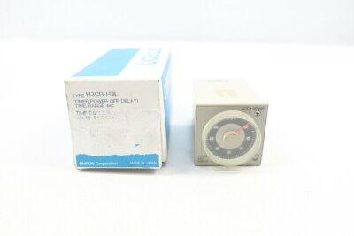 NUOVO//scatola originale OMRON h3de-m1 ac//dc24-230