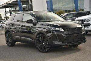 2021 Peugeot 3008 P84 MY21 GT Sport SUV Black 8 Speed Sports Automatic Hatchback
