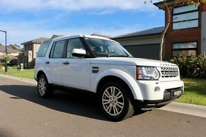 Includes GST - Low KM 7 seat 2013 Land Rover Discovery 4 4WD Barden Ridge Sutherland Area Preview