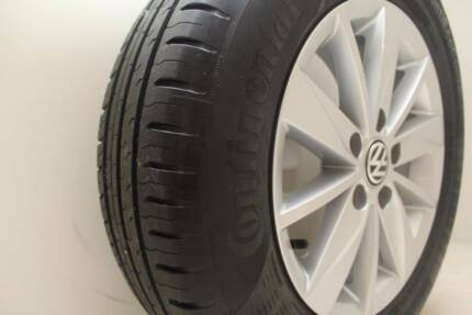 4 Set Original 2015 Volkswagen Golf Alloy Wheels 195/65/R15