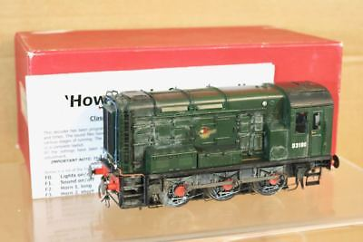 SANCHENG O GAUGE BRASS DCC SOUND BR 0-6-0 CLASS 08 DIESEL SHUNTER LOCO D3100 nr for sale  Shipping to Ireland