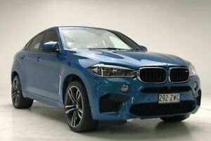 2016 BMW X6 M F86 Coupe Steptronic Blue 8 Speed Sports Automatic Wagon