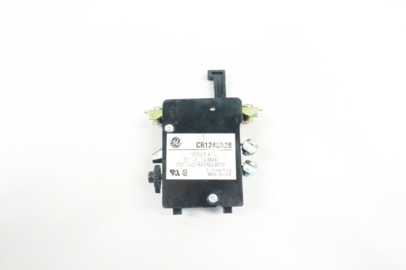 General Electric Ge CR124C028 Overload Relay
