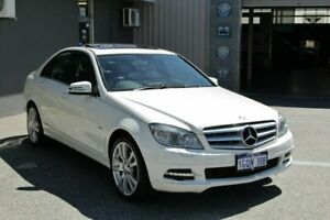 2011 Mercedes-Benz C-Class W204 MY11 C250 BlueEFFICIENCY 7G-Tronic + Avantgarde Alabaster White Myaree Melville Area Preview