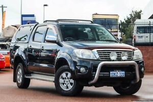 2010 Toyota Hilux GGN25R MY10 SR5 Black 5 Speed Automatic Utility
