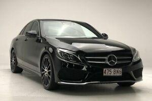 2016 Mercedes-Benz C-Class W205 806+056MY C250 7G-Tronic + Black 7 Speed Sports Automatic Sedan