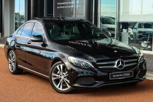 2017 Mercedes-Benz C-Class W205 808MY C200 9G-Tronic Black 9 Speed Sports Automatic Sedan