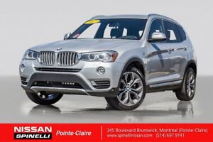 2015 BMW X3 XDrive28d Premium Pack DIESEL/NAVIGATION / MOONROO