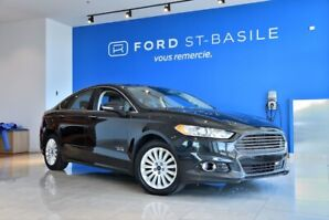2014 Ford Fusion Energi Titanium+CUIR+TOIT OUVRANT+ GPS+++ 1 Owner! No acc