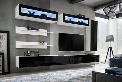 Idea L2 - modern wall unit for tv / entertainment units / tv unit / tv