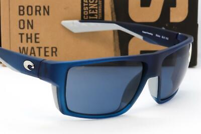 NEW COSTA DEL MAR BLOKE SUNGLASSES Bahama Blue fade / Grey 580P (Costadelmar Sunglasses)