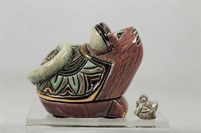DeRosa Rinconada Silver Anniversary 'Baby Mouse Box' W/Charm-NEW #1611 Ret  NIB