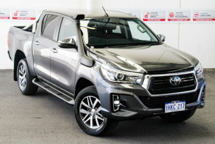 2019 Toyota Hilux GUN126R SR5 Double Cab Graphite 6 Speed Sports Automatic Utility Melville Melville Area Preview