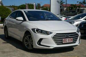 2017 Hyundai Elantra AD MY18 Active White 6 Speed Sports Automatic Sedan Nundah Brisbane North East Preview