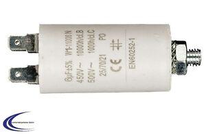 Motorkondensator Anlaufkondensator 6 uF - 450V 400 V~ Kondensator 6 µF