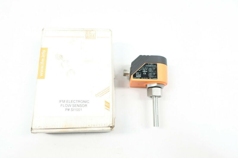 Ifm Electronic SI1001 Flow Sensor 20-36v-dc