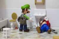 Plumbers for hire!