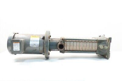 Goulds Lvb 30 Submersible Pump 3hp 1-14in Npt 230460v-ac