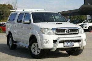 2010 Toyota Hilux White Automatic Utility