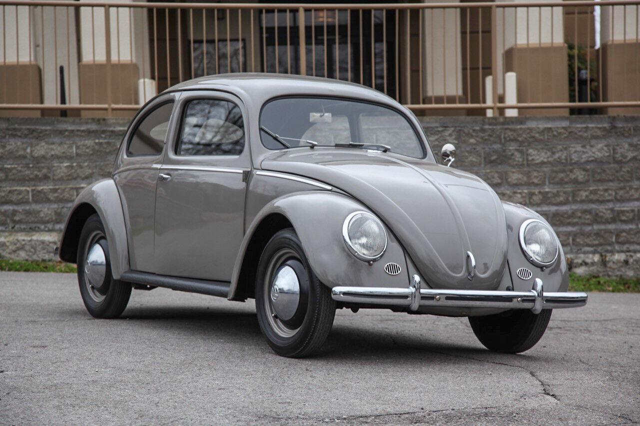 """1952 Volkswagen Beetle - Classic Standard 1952 Volkswagen Split Window Standard Beetle, Numbers Matching 25hp, 16""""s, RARE!"""
