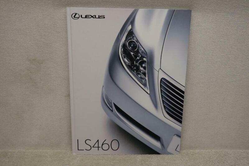 Lexus LS460 Sales Brochure Book Japan Version JDM