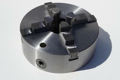 New Bison 10 4-jaw Self Centering Lathe Chuck. Flat Back. Made In Poland