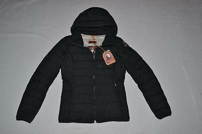 AUTHENTIC PARAJUMPERS JULIET GIRLS DOWN JACKET BLACK SIZE 4 KIDS BRAND NEW