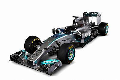 MERCEDES BENZ W05 FORMULA 1 F1 RACE CAR POSTER PRINT 24x36 9 MIL PAPER for sale  Denver