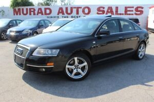2008 Audi A6 !!! ALL WHEEL DRIVE !!! LEATHER !!! GPS !!!
