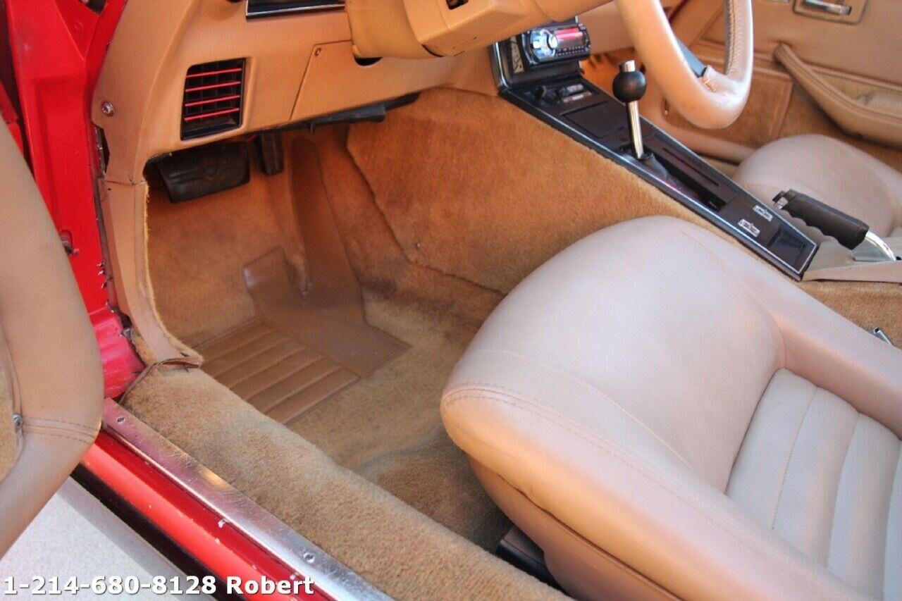 1981 Red Chevrolet Corvette Coupe  | C3 Corvette Photo 9