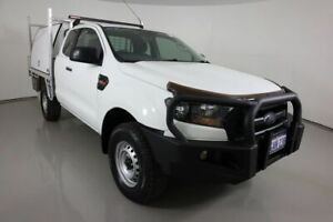 2016 Ford Ranger PX MkII MY17 XL 3.2 (4x4) White 6 Speed Manual Super Cab Chassis