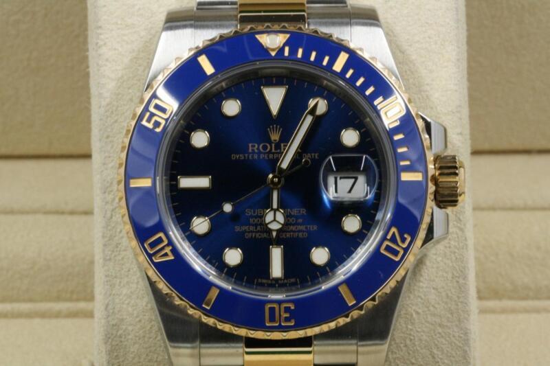 Rolex Submariner-date 116613 Blue Dial & Bezel 2017 Model