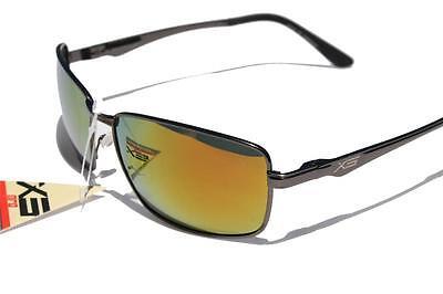 Orange Lens Sunglasses (XS PRO Metal frame Polarized sunglasses /w Orange mirror lens gunmetal)