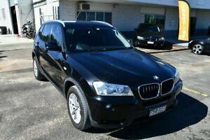2012 BMW X3 F25 xDrive20d Black 8 Speed Steptronic Wagon Springwood Logan Area Preview