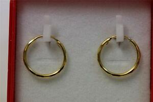22ct/916 stunning attractive indian gold pair of earrings *Boxed*