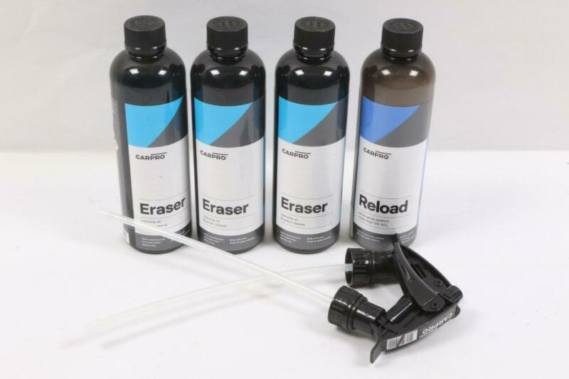 CarPro Eraser Cleaner 3 Bottles 500mL& Reload 1 Bottle