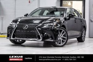 2018 Lexus GS 350 F SPORT II; AUDIO TOIT GPS NEW DEMO - $6,674 O