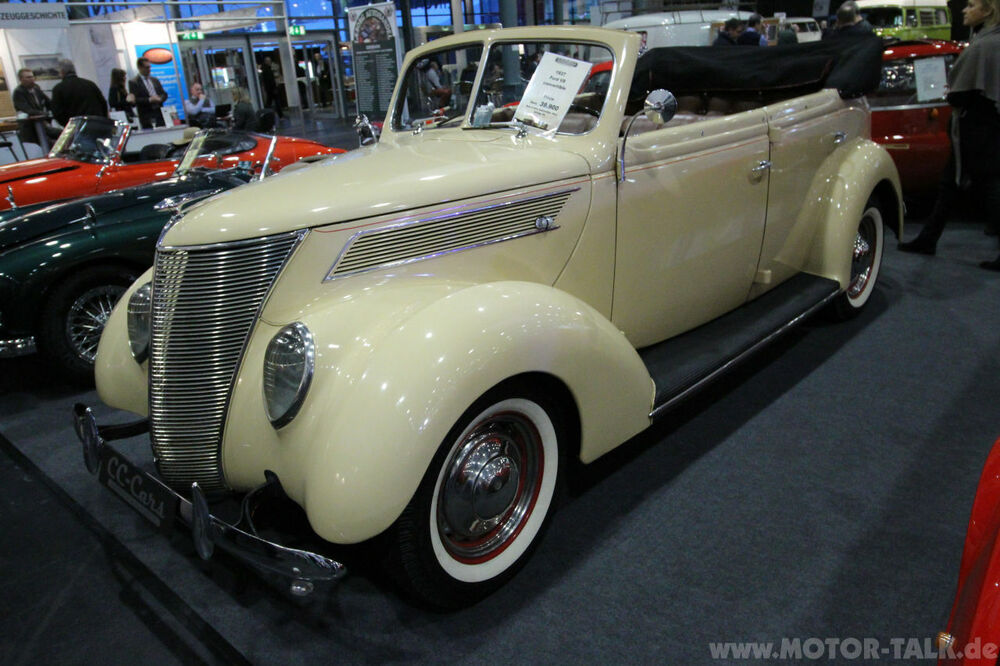 Ford V8 Convertible 1937