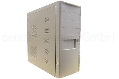 Computergehäuse ATX mAtX weiß mit 350W Realpower Netzteil - PC Miditower