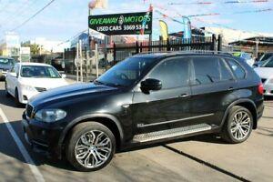 2007 BMW X5 E70 3.0D Black 6 Speed Auto Steptronic Wagon