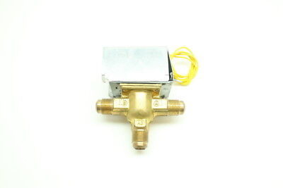 Honeywell V8043a1193 Electric Brass Zone Valve 24v-ac 12in Npt
